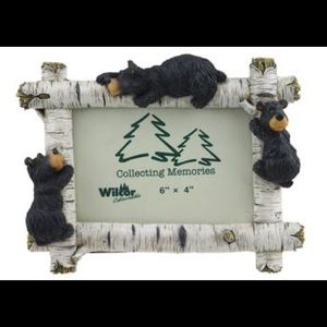 BIRCH WILLIE BEAR FRAME 6X4